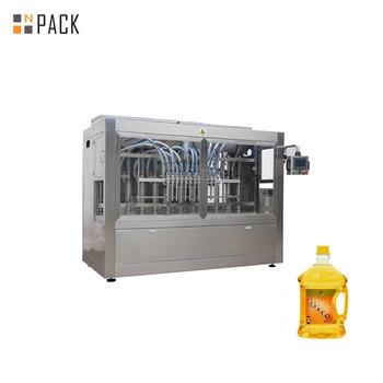 Automatic 4 Nozzles Sunflower Oil Filling Machine