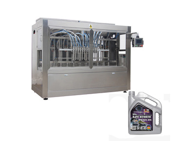 Cheap Linear 5l Lube Oil Filling Machine