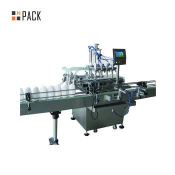 factory piston diving nozzle filling machine