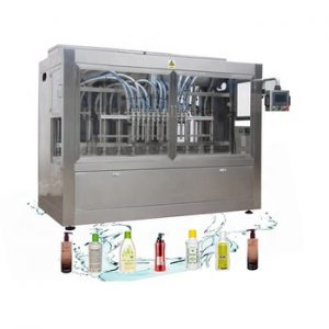 NPACK Factory Full Automatic Soap Bottle liquid detergent Filling Machine
