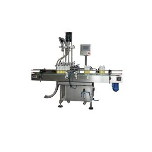 Npack 2-12 Heads Servo Motor Economic Driven Automatic Liquid Detergent Laundry Bottle Filling Machine