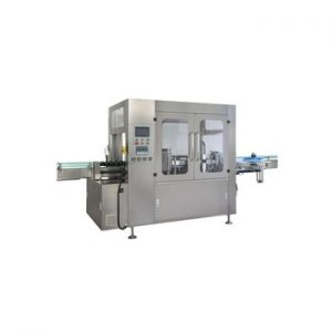Npack NP-RL 100ml-500ml Servo Motor Automatic Hot Melt Glue Labeling Machine for Plastic Bottle