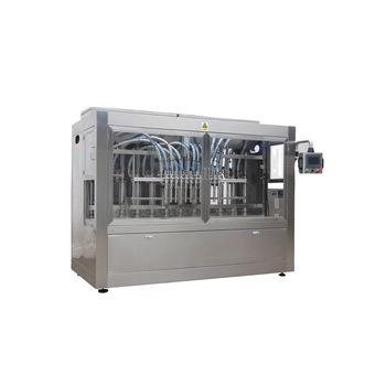 Npack Manufacturing Servo Motor Driven Linear Type Piston Automatic 100ml-1l Hand Soap Liquid Bottles Filling Machine