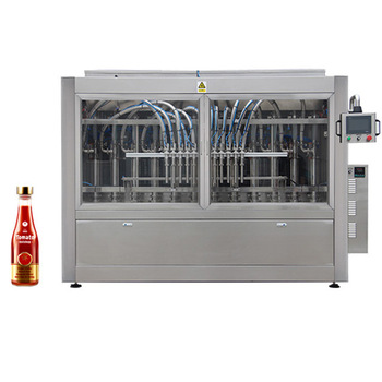 Npack Linear Piston Servo Motor Easy Cleaning CIP Cleaning System Ketchup/Beef/Chili Sauce Filling Machine With U-type Tank