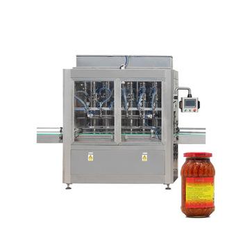 NPACK factory automatic glass bottle jar hot sauce jam filling machine