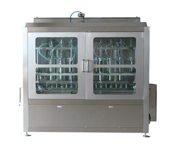 Npack Full Automatic Servo Motor Piston Hot Thick Sauce Filling Machine U-type Mixing Sauce Filling Machine