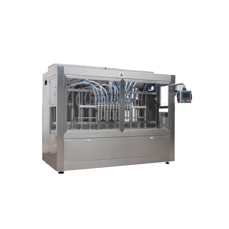 Npack PlC Control NP-VF Manufacturing Servo Motor Driven Automatic Cream Bottle Filling Machine