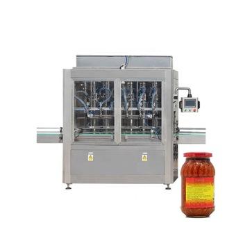Npack Manufacturing Servo Motor Full Automatic BBQ/Pepper/Oyster Sauce Filling Machine for PET Bottle or Glass Jar