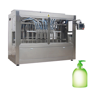 Npack Factory Servo Motor Driven Full Automatic Liquid Filling Machine For Soap with Anti-foam Bottom-Up Filling Function