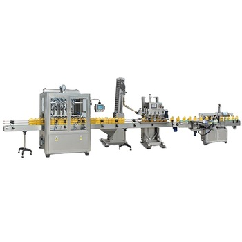 Npack Linear Type China Manufacturing Servo Motor Driven Digital Control Full Automatic Factory Price Filling Line Sunflower Oil