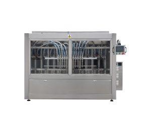 Npack 12 10 8 Head Servo Motor Automatic Motor Engine Oil Plastic Bottle Pail Filling Machine