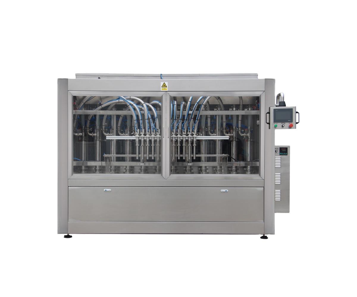 Npack PLC Control Piston Manufacturing Servo Motor Barbecue Sauce Filling Machine for Plastic Bottle