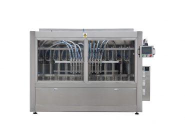 Npack Automatic Linear Type High Speed Edible Oil Engine Oil Sauce Shampoo Liquid Filling Machine
