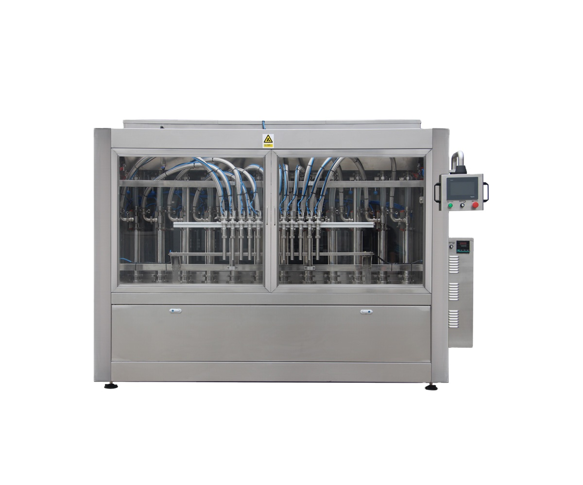 Npack High Efficiency Manufacturing Servo Motor Automatic Shower Gel Filling Machine for Bottle