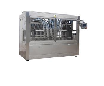 Npack Servo Motor Driven Piston CE Standard Automatic High Volume Glass Bottle Olive Oil Filler with Aseptic Filling