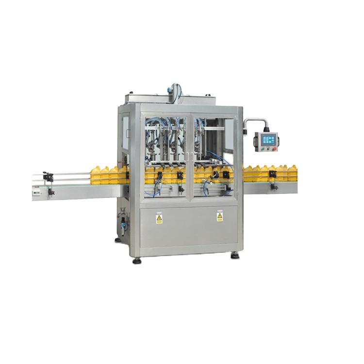 Npack High Capacity Manufacturing Linear Tpye Servo Motor Driven Automatic 5L Jerrycan Filling Machine