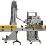 Npack Linear Type Manufacturing Easy Operate Automatic Glass Bottle Sealing Capping Machine