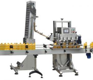 Npack Energy Saving High Quality Servo Motor Automatic Shampoo Plastic Bottle Capping Machine