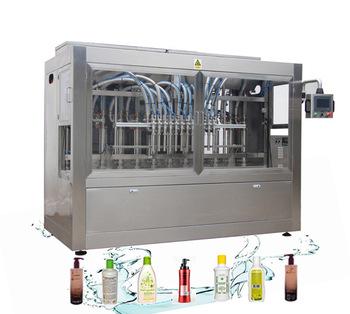 NPACK automatic piston servo motor shampoo liquid bottle filling machine 100-1000ml