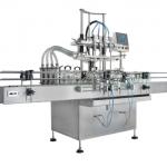 Factory Price Economy Automatic Servo Motor 4 nozzles Bottle Filling Machine