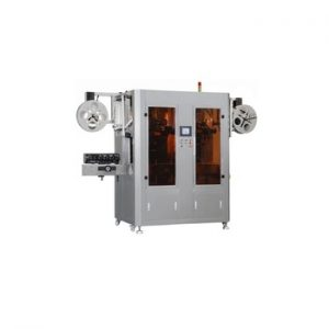 Npack High Quality PlC Control Electric Automatic Sleeving Labeling Machine Automatic Packaging