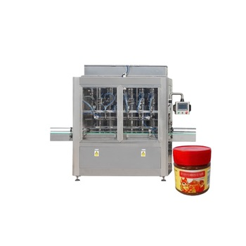 Npack Shock Proof Manufacturing Servo Motor Automatic Tomato Juice Filling Machine with Sauce Jar