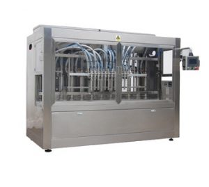 Npack Manufacturing Servo Motor Driven Automatic 200ml Honey Glass Bottle Liquid Bottle Filler with Aseptic Filling
