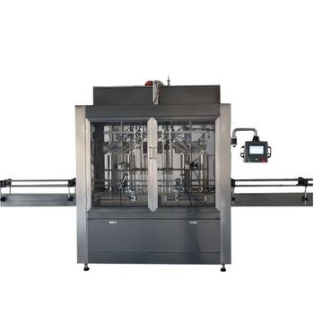 Npack Manufacturing Linear Piston Servo Motor PLC Control Automatic Detergent Liquid Filling Machine
