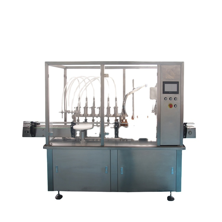 Npack PlC Control Easy Operate Automatic High Speed Glass Bottle Filling and Capping Machine