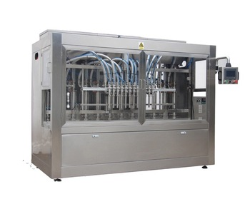 Npack Piston Servo Motor Driven Linear Type Automatic Wash Foam Liquid Filling Machine with Easy Clean