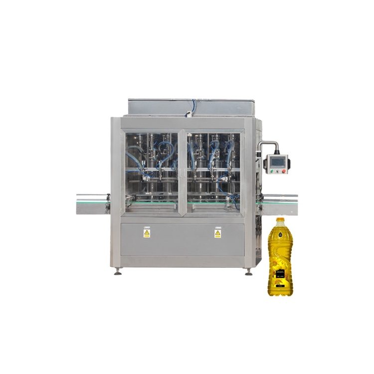 Npack High Quality Automatic Piston Olive/Plant/Edible Oil Bottle Filling Machine with PLC Control