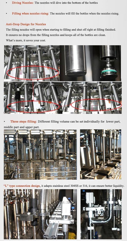 High Accuracy Industrial Bottling Equipment 2