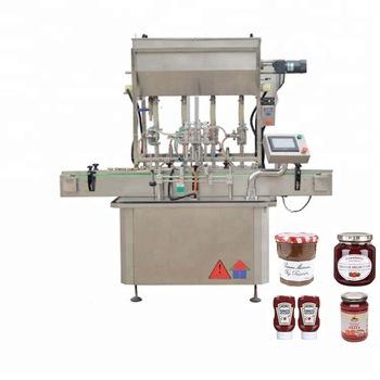 Full automatic 75% Alcohol Disposable Hand Sanitizing Gel piston filling machine in Riyadh