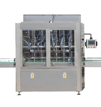 automatic big volume lubricant brake oil bottle filling machine in Bosnia