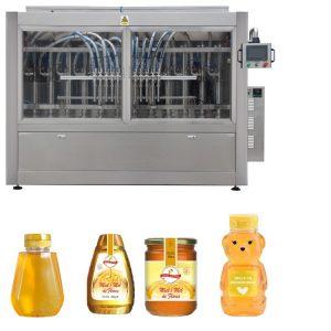 Npack High Speed Servo Motor Driven Automatic Small Capacity Liquid Foundation Honey Bottling Filling Machine