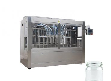 Npack Servo Motor Driven High Quality Automatic Thick Chilli Sauce Glass Bottle Filling Machine